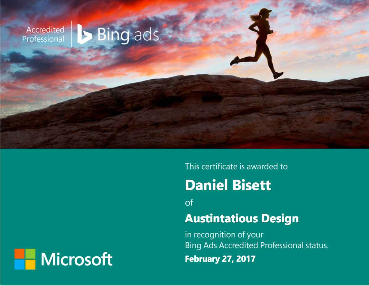 Bing Ads Cert