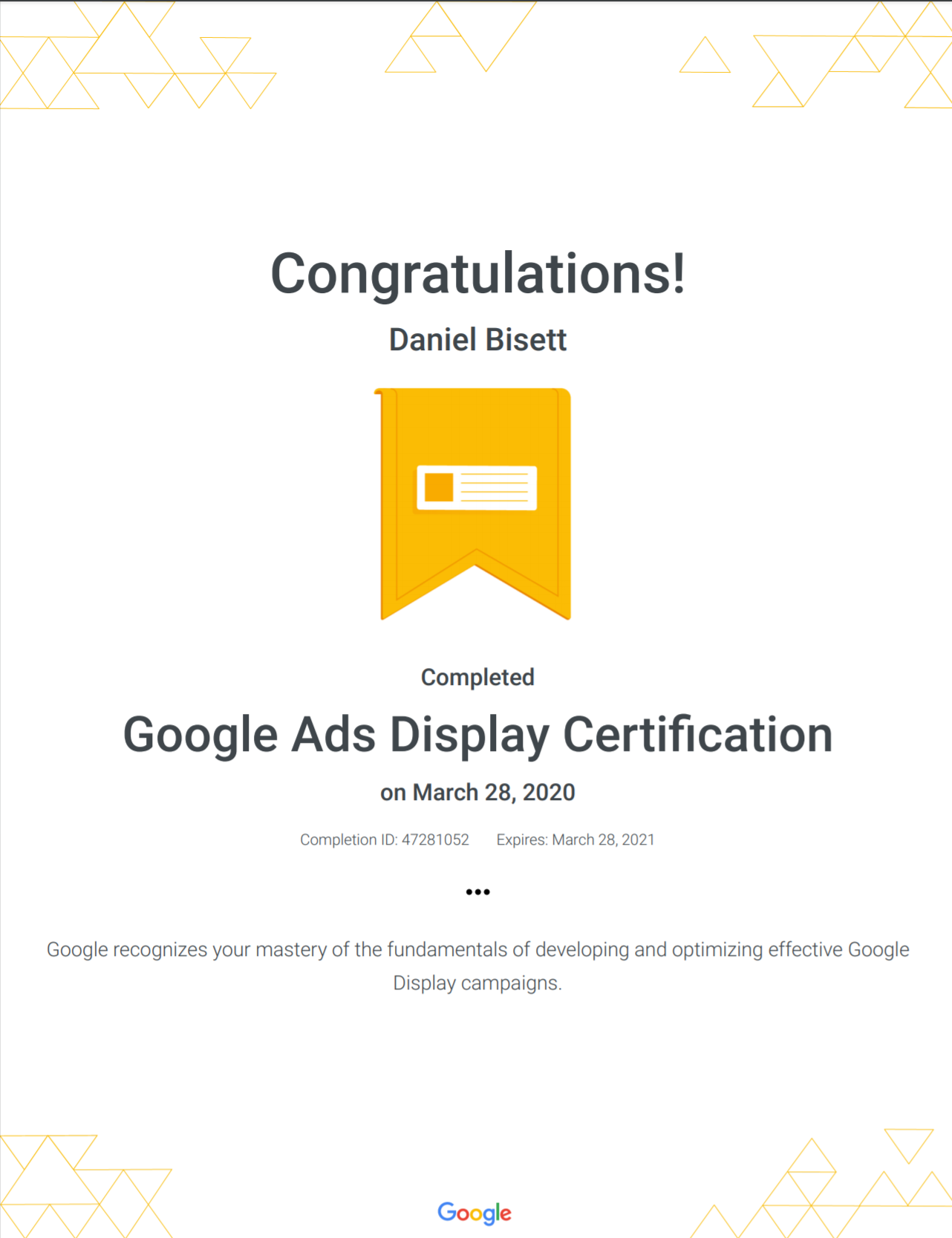 google-ads-display-certification