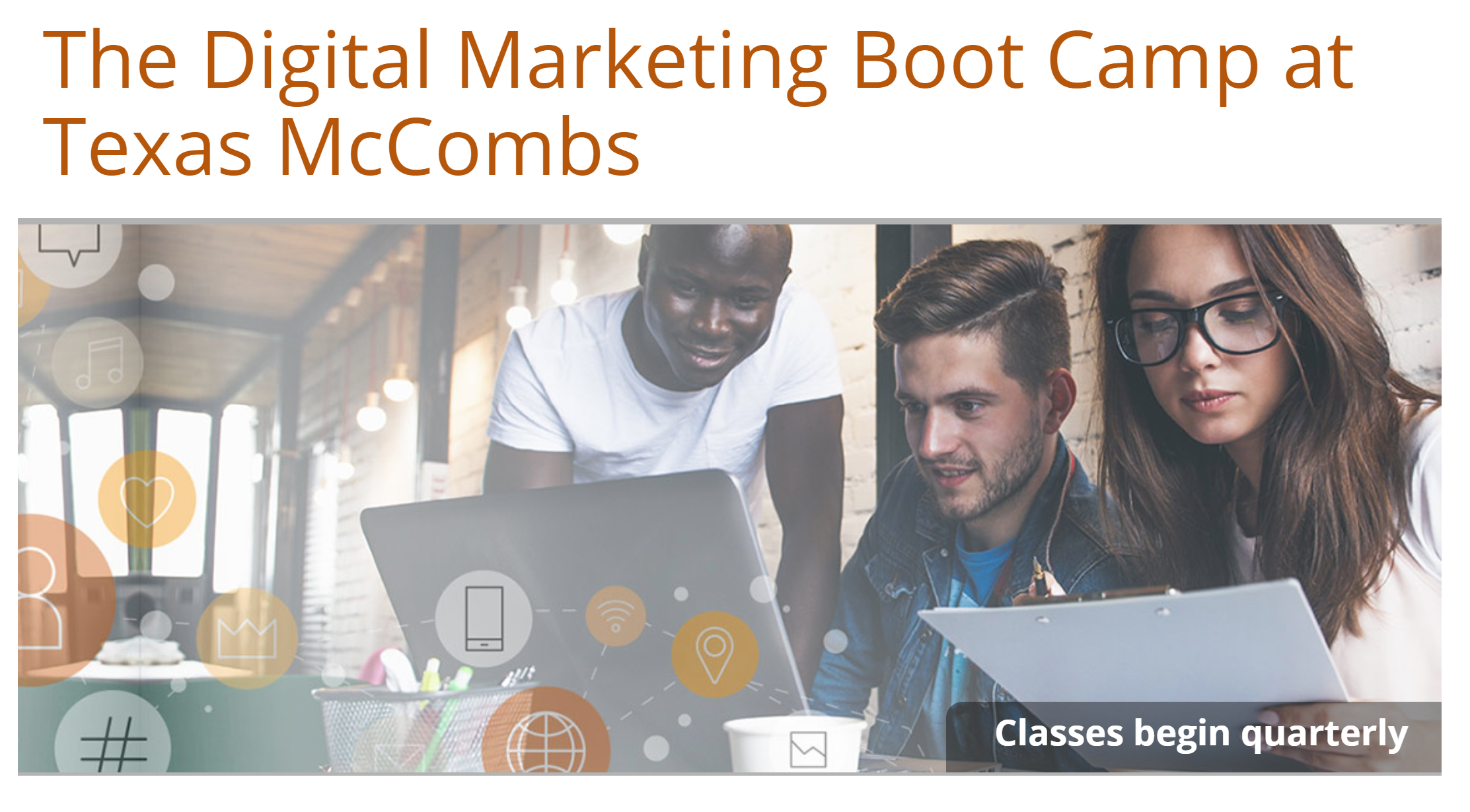 digital-marketing-boot-camp-texas-mccombs for Austintatious Design Co