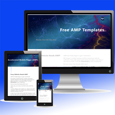 mobile-tablet-desktop-free-amp-templates for Austintatious Design Co